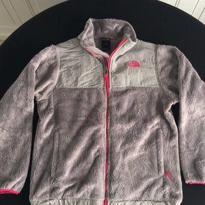 Girls XL North face fleece jacket